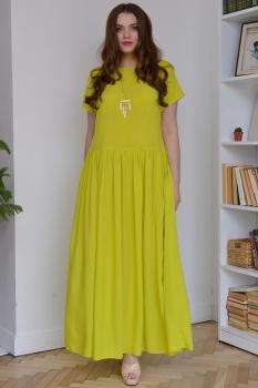 Платье ЮРС 18-796 лайм