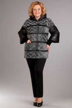 Куртка Ива 689 серебристый