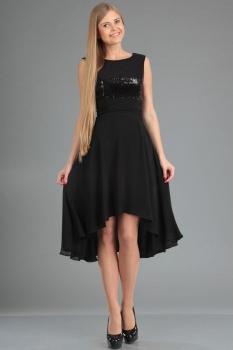 Платье Ива 903-3 черный