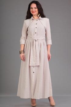 Платье Ива 904/1 оттенки беж