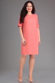 Платье Ива 922 терракотовый