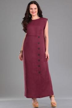 Платье Ива 928-1 баклажан