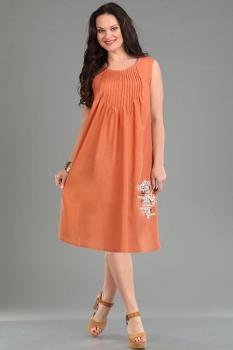 Платье Ива 930-2 коралл