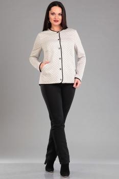 Куртка Ива 934 светло-бежевый