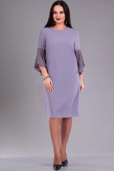 Платье Ива 941 сиреневые тона