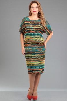 Платье Ива 942/1 полоски