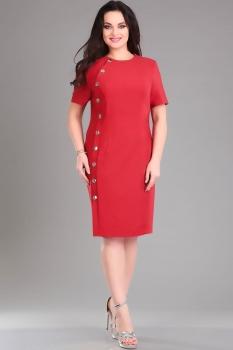 Платье Ива 957/1-1 красный
