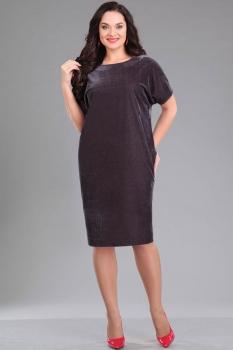 Платье Ива 966 оттенки серого