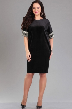 Платье Ива 966/1 чёрный