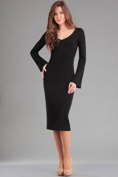 Платье Ива 967 чёрный