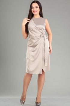 Платье Ива 968 оттенки серого