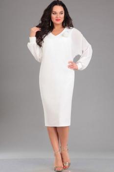 Платье Ива 971 белый
