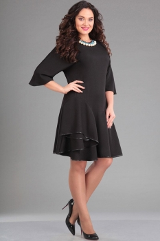 Платье Ива 972 чёрный