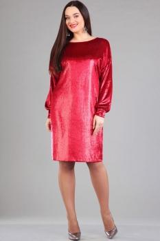Платье Ива 975 красный