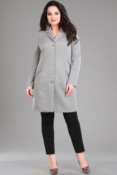 Пальто Ива 980 светло-серый