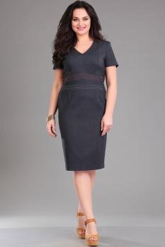 Платье Ива 984 серый