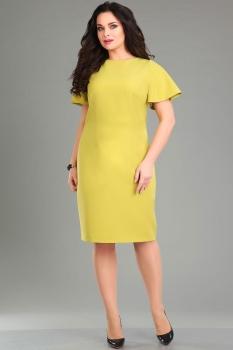 Платье Ива 985-1 оттенки жёлтого