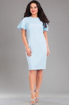 Платье Ива 985 голубой