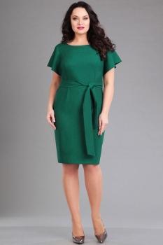 Платье Ива 986 зелёный