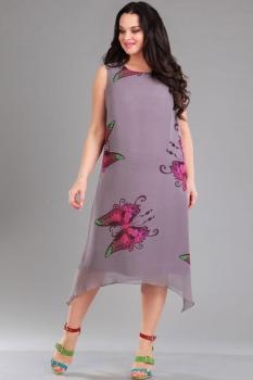 Платье Ива 992 сиреневый