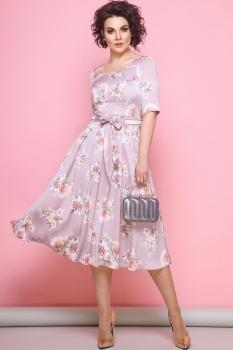 Платье JeRusi 1828 розовый