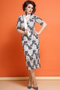 Платье JeRusi 1854 серый