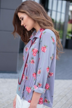 Блузка Juanta 1104 голубой