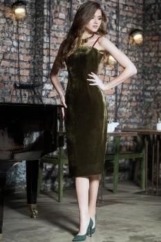 Платье Juanta 2447 изумруд
