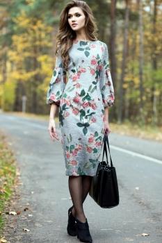Платье Juanta 2458 серый