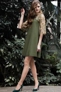 Платье Juanta 2485 хаки