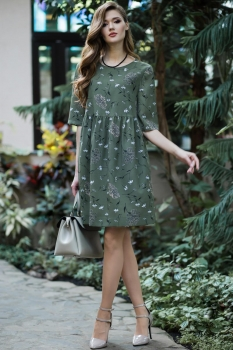 Платье Juanta 2488 трава