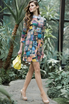 Платье Juanta 2489 пёстрый