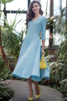 Платье Juanta 2490 голубой