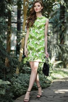 Платье Juanta 2517 салатовый