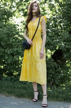 Платье Juanta 2533 желтый