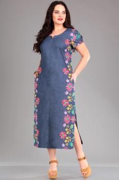 Платье Jurimex 1553 Светло-синий