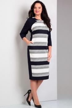 Платье Jurimex 1633 Черно-белый