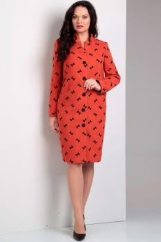 Пальто Jurimex 1635-1 оранжевый