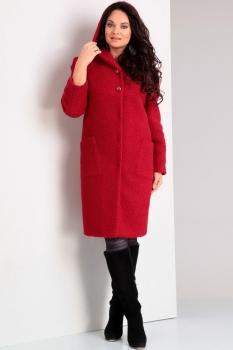 Пальто Jurimex 1638-1 Красный