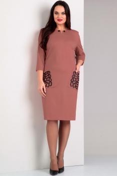 Платье Jurimex 1652-1 пудра