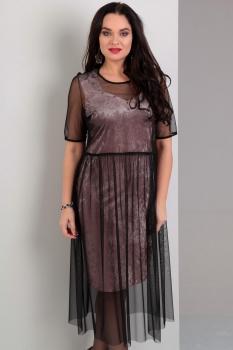 Платье Jurimex 1709 розовый с черным