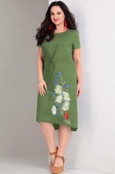Платье Jurimex 1717-1 Зеленый
