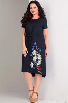 Платье Jurimex 1717 Темно-синий