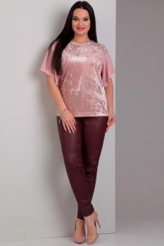 Костюм Jurimex 1723 Бордовый+розовый