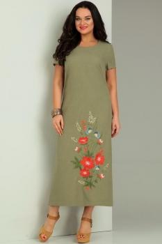 Платье Jurimex 1731-1 Хаки
