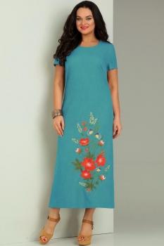 Платье Jurimex 1731-2 Бирюза