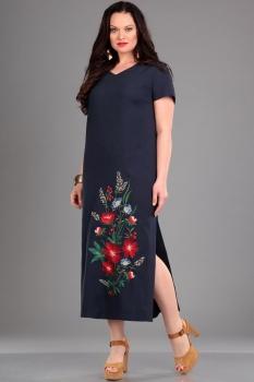 Платье Jurimex 1731 Темно-синий