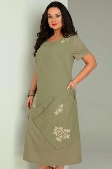Платье Jurimex 1734 Хаки - фото 3