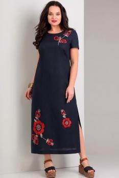 Платье Jurimex 1739 темно-синий