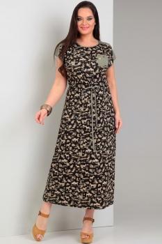 Платье Jurimex 1774 Хаки с черным